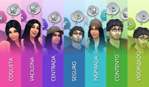 Los Sims 4 emociones