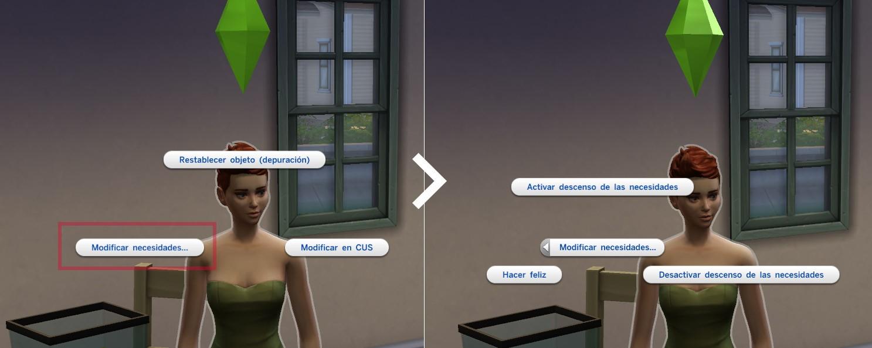 Los Sims 4 trucos cheats