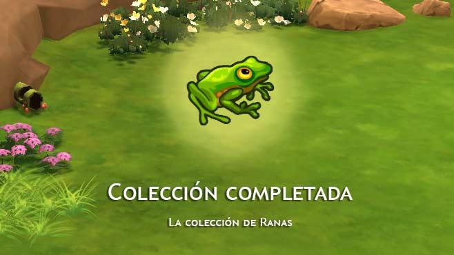 Los Sims 4 colección ranas