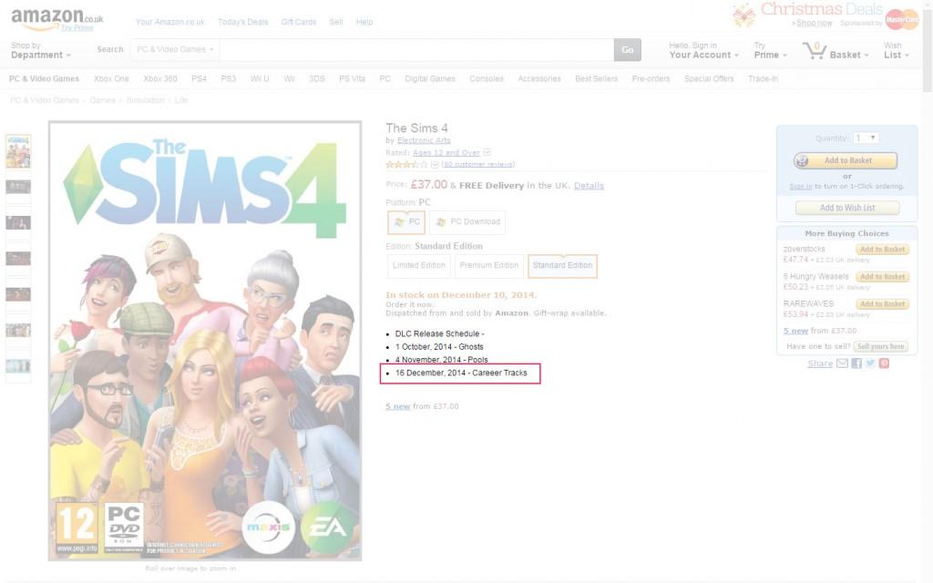 En la web de Amazon UK se han publicado las fechas programadas para cada una de las actualizaciones.