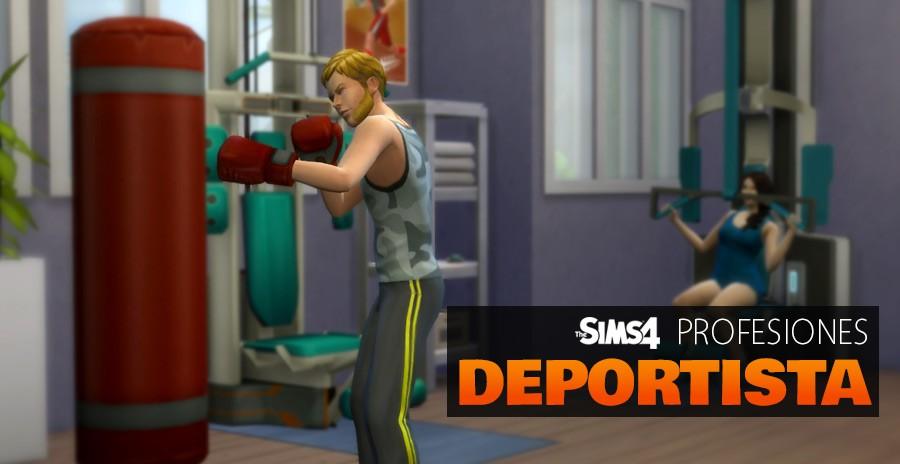 Sims 4 profesiones empleo carrera deportes deportista
