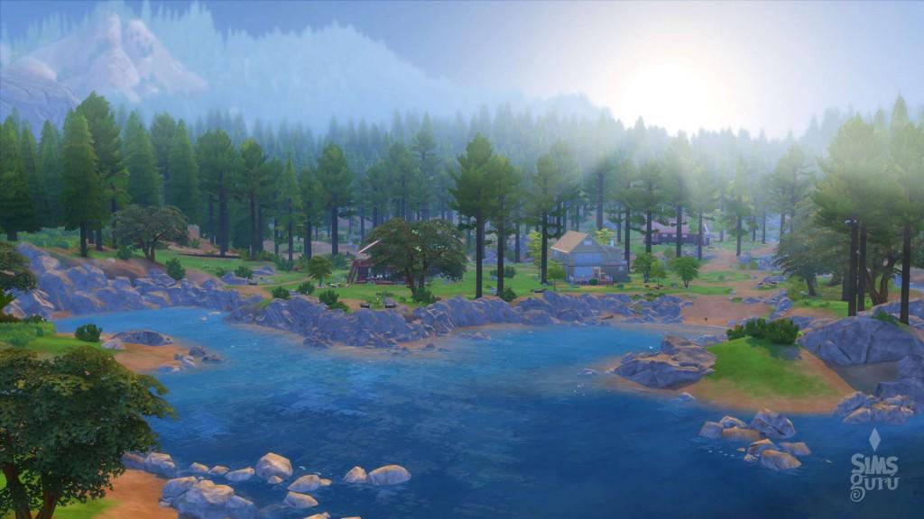 Granite Falls, el nuevo barrio de Los Sims 4