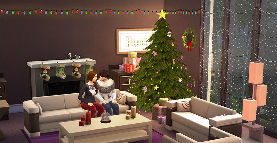 Navidad Los Sims 4: Mod decoración y objetos navideños