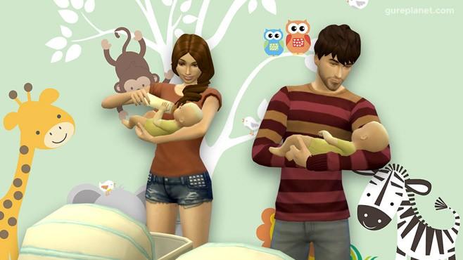 Cómo tener gemelos en Los Sims 4