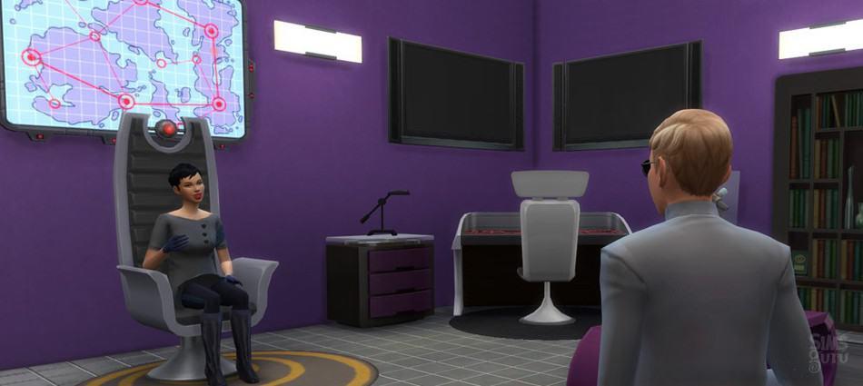 Profesión Agente Secreto de Los Sims 4