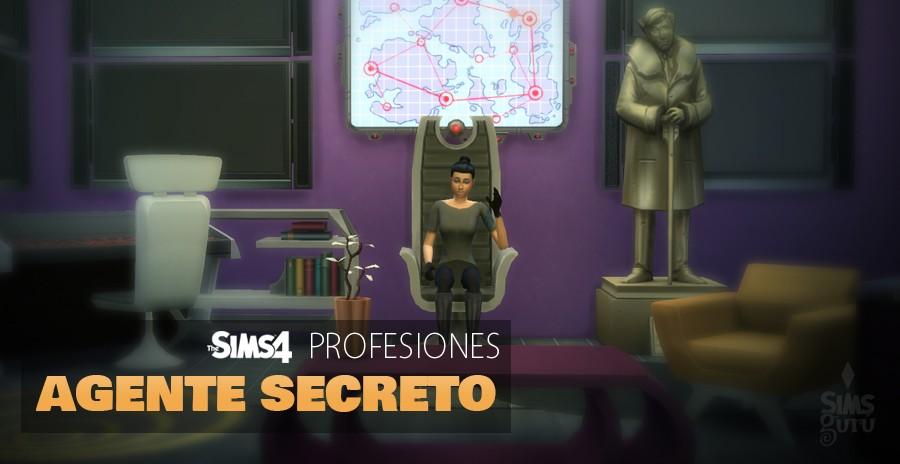 Sims 4 profesiones: Agente Secreto