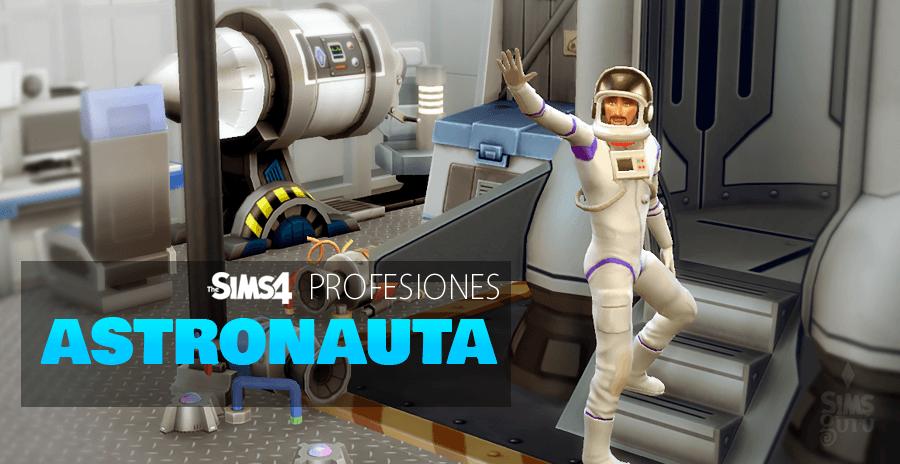 Sims 4 profesiones: Astronauta