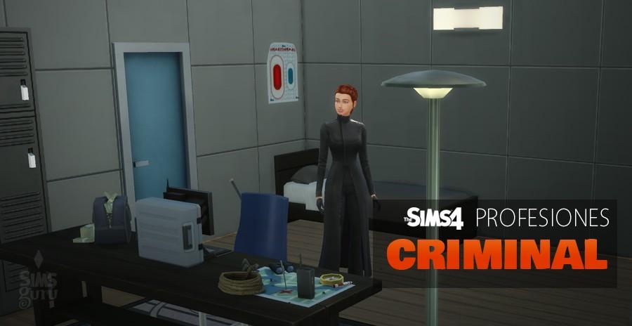 Sims 4 profesiones: Criminal