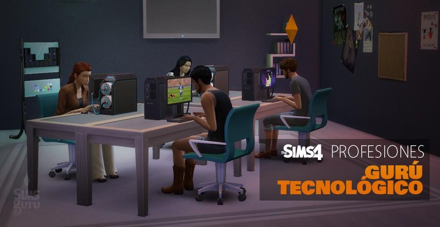 Sims 4 profesiones: Gurú Tecnológico