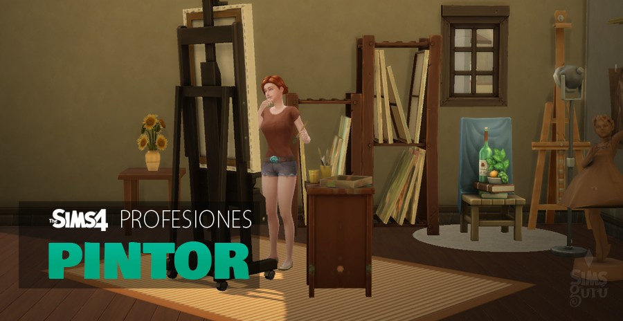 Sims 4 profesiones: Pintor