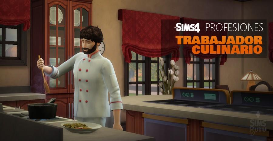 Sims 4 profesiones: Trabajador culinario