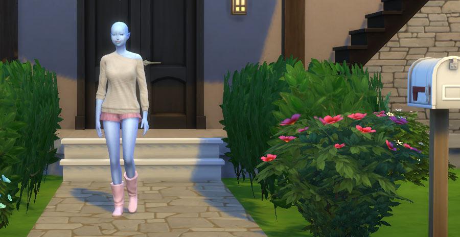 Cómo vestir a un alien con ropa normal en Los Sims 4