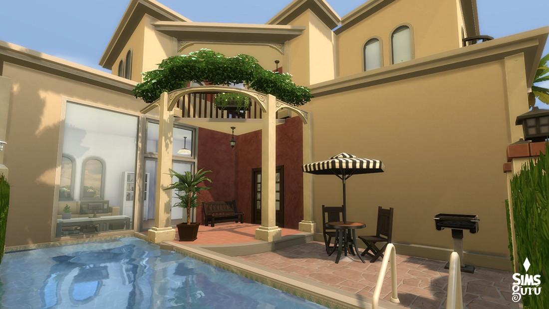 Casa bonita solar residencial para descargar simsguru for Sims 4 piani di casa