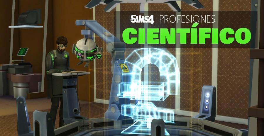 Sims 4 profesiones: Científico