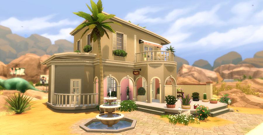 Tienda Floristeria Los Sims 4