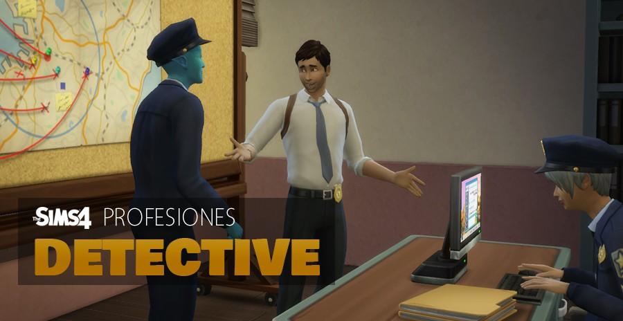 Sims 4 profesiones: Detective