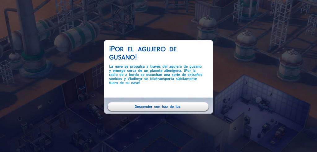 Los Sims 4: Visitar Sixam creando un Electrogenerador de agujeros de gusano