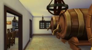 Mi negocio de Sidrería en Los Sims 4