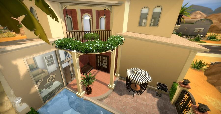 Casa Bonita para descargar en la Galería de Los Sims 4