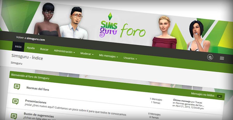 Nuevo foro de Los Sims 4