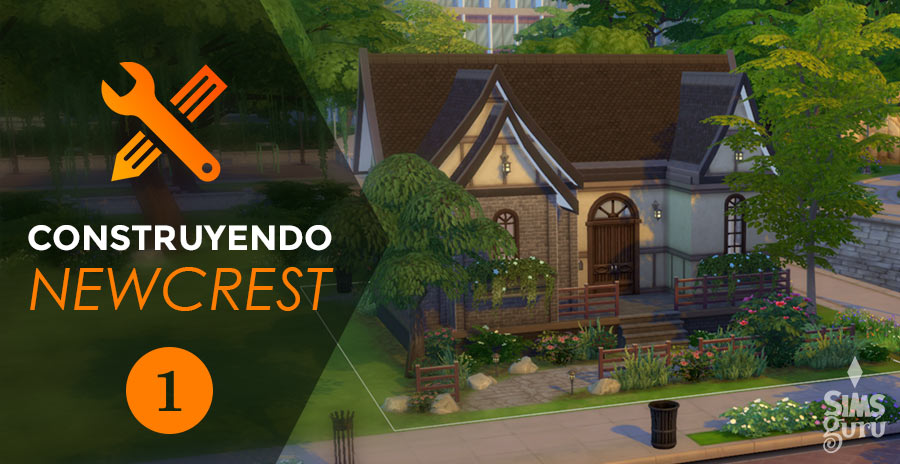 Construyendo Newcrest. Casa 1: English Country
