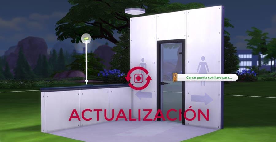 Ya está aquí la actualización de los semi muros y el bloqueo de puertas