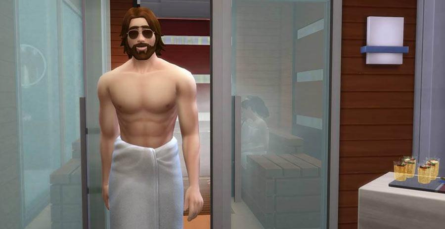 Los Sims 4 Día de Spa