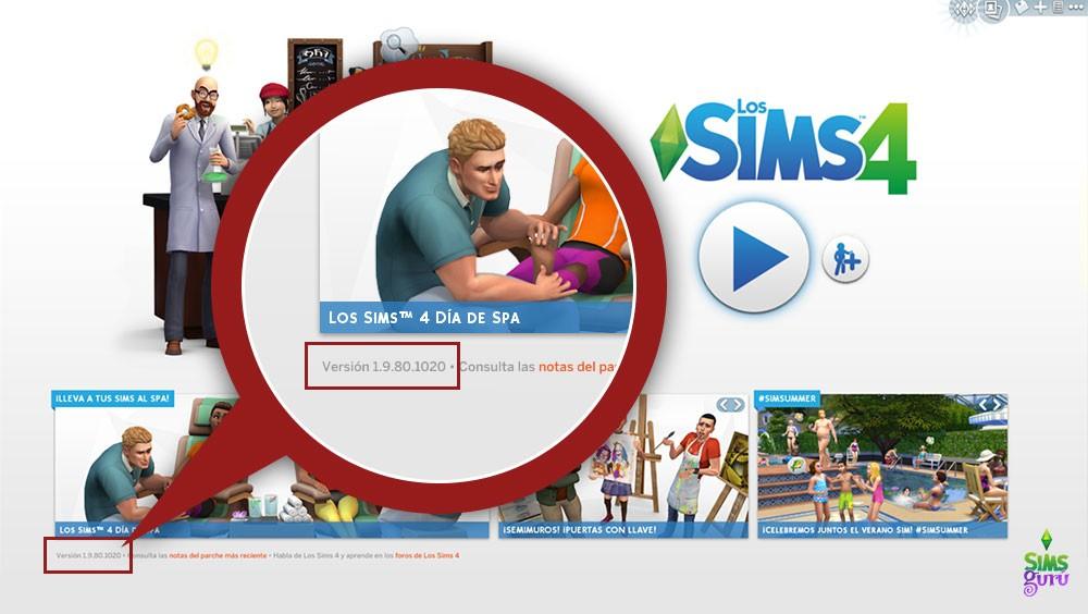 Cómo encontrar qué versión de Los Sims 4 tengo instalada