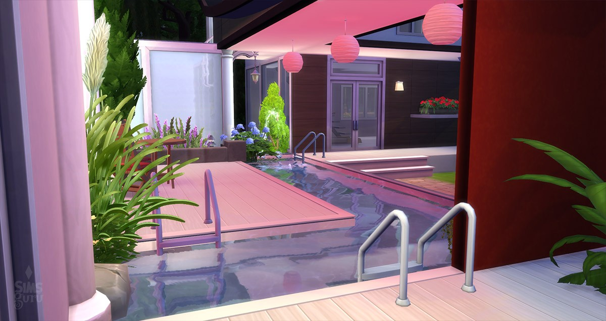 Casa modern chill out para descargar simsguru for Cuartos para ninos sims 4