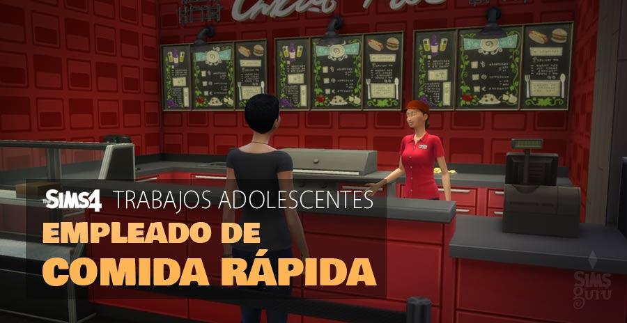 Trabajos adolescentes: Empleado de comida rápida