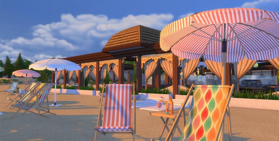 mods de verano terreno objetos de playa simsguru