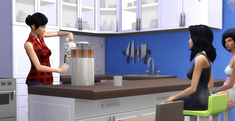 El té y sus efectos en Los Sims