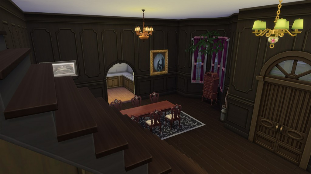Casa del terror Spooky para decorar con el Pack Escalofriante