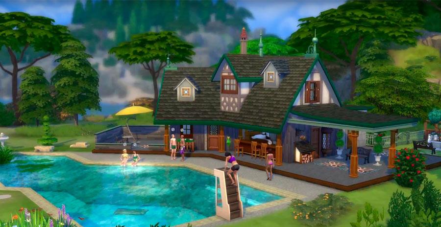 Nuevo trailer de los sims 4 quedamos explorando for Sims 4 jardin romantico