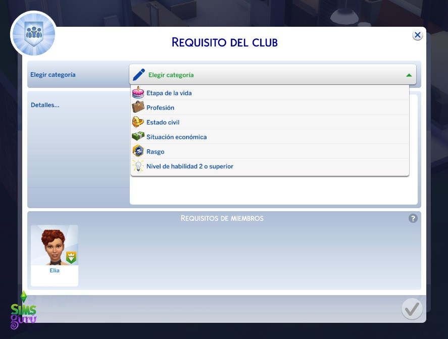 Clubs ¿Quedamos? Requisitos