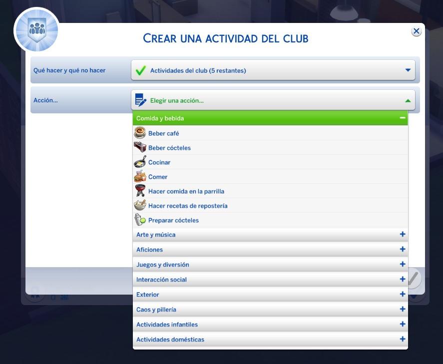 Clubs ¿Quedamos? Actividades