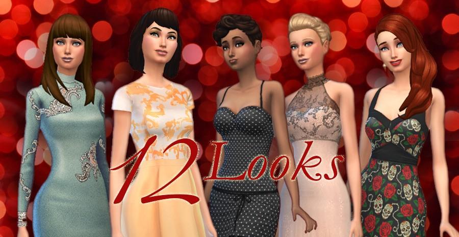 Custom content. 12 vestidos para Navidad