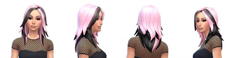Imagen perfecta sims 4 peinados Fotos de cortes de pelo Consejos - Recopilación de los mejores peinados para Los Sims 4 (1) ♦ ...