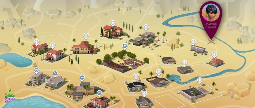 ¿Dónde está Jasmine en Oasis Springs?