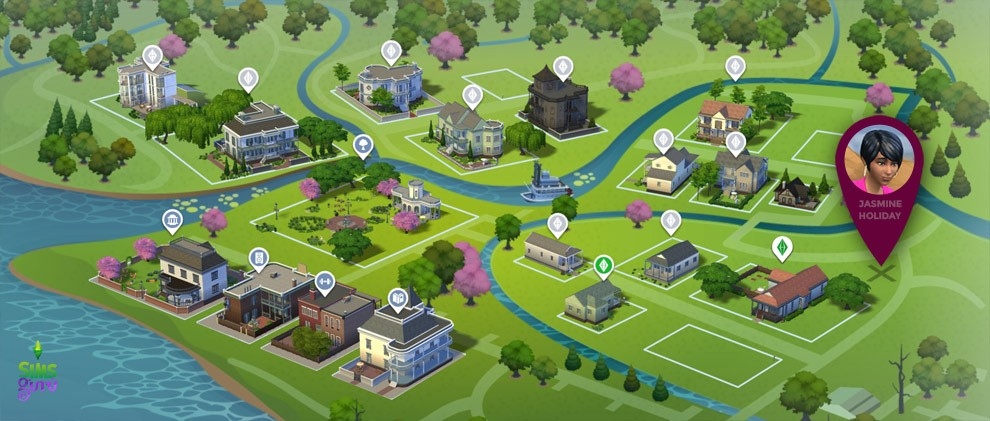 ¿Dónde está Jasmine en Willow Creek?