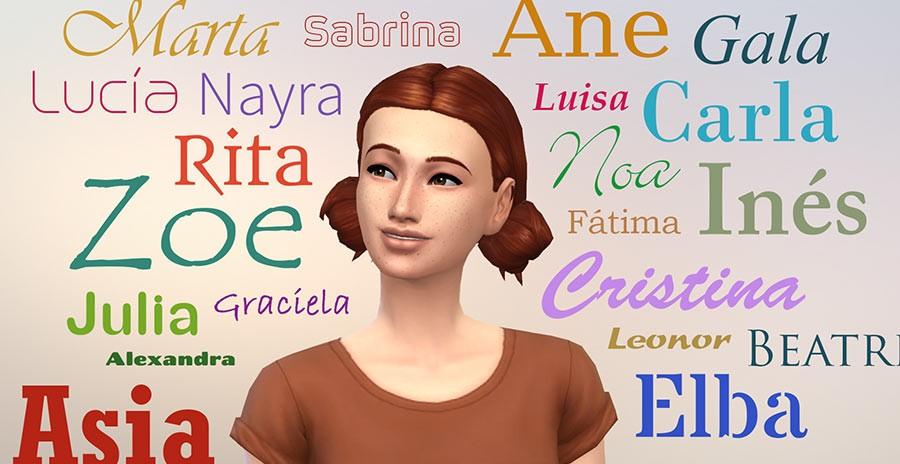 Mod más nombres para tus Sims