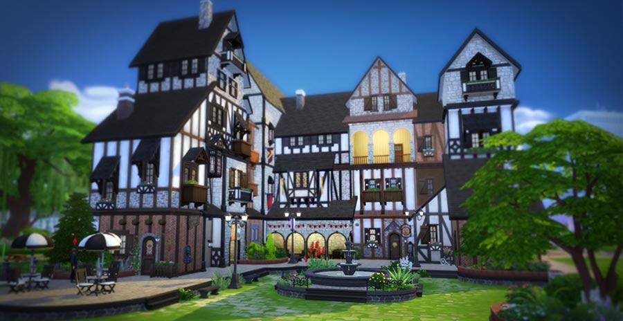 Village Plaza Nightclub, un club para las fiestas de tus Sims
