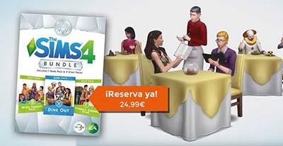 Reserva ya el tercer Bundle de Los Sims 4 que incluye el Pack de contenido Dine Out