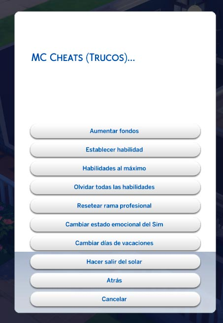 Mc Cheats
