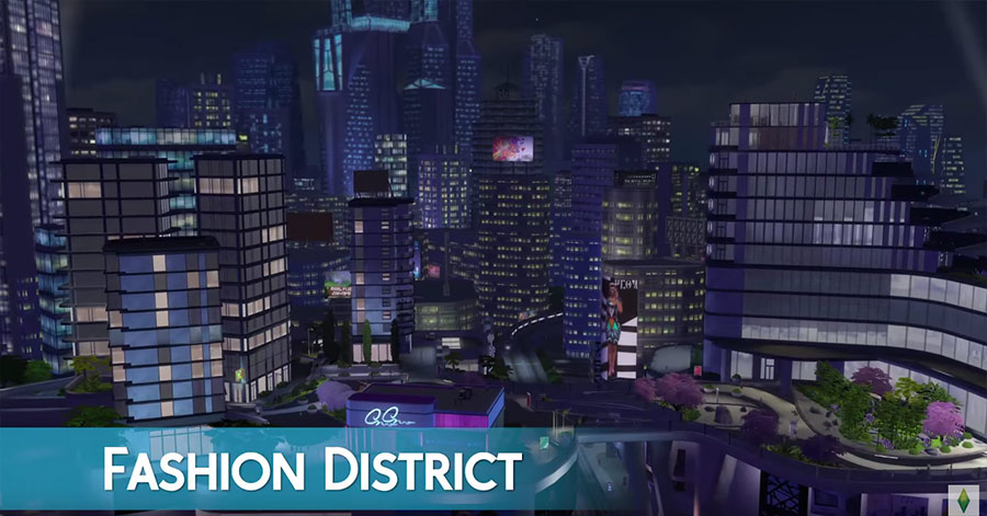 San Myshuno: Fashion District