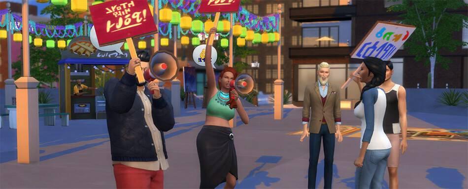 Sims 4 Profesiones: Político y Activista