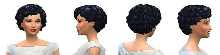Peinado hairstyle Sims 4