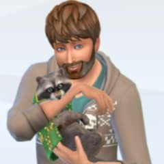 mapache sims 4 mascotas