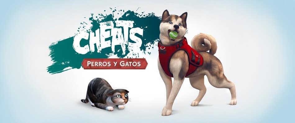 Cheats/Trucos de Los Sims 4 Perros y Gatos