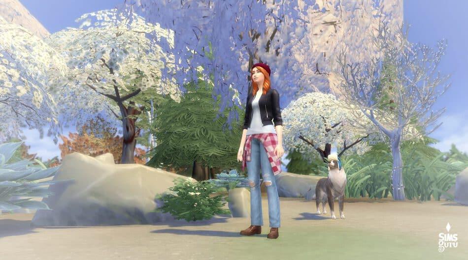 Simulación de Los Sims 4 Estaciones (imagen retocada)